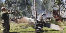 Dodentol crash Filipijns legervliegtuig loopt op tot vijftig