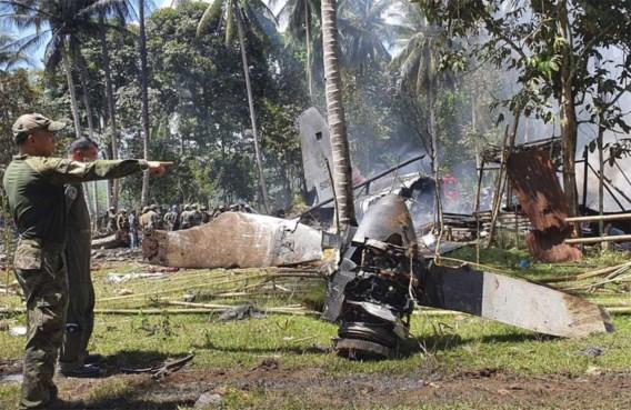 Zwarte doos gevonden na vliegtuigcrash op Filipijnen