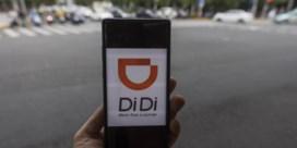 Chinese staat prikt banden autodeler Didi lek