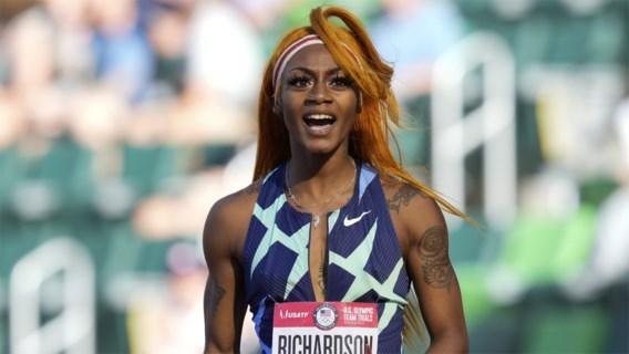 Sprintsensatie Richardson krijgt geen plaats in estafette en mag Tokio helemaal vergeten