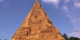 Denemarken pakt uit met hoogste zandkasteel ter wereld