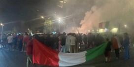Limburgse Italianen vieren feest met vuurwerk en bommetjes na zege tegen Spanje