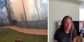 Man redt slapende echtgenote van bosbrand door intercom
