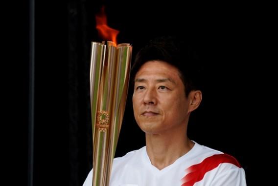 Olympische vlam in mineur aangekomen in Japan