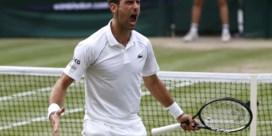Djokovic stoot door naar zevende Wimbledonfinale