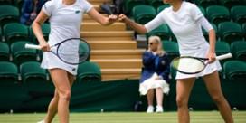 Elise Mertens naar finale dubbelspel op Wimbledon