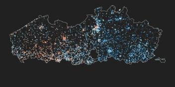 In kaart | Hoe hitte onze steden 's nachts doet zweten