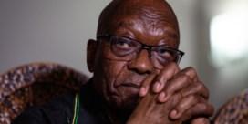 Oud-president Jacob Zuma heeft zichzelf aangeboden bij de gevangenis