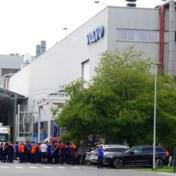 Volvo-personeel legt spontaan werk neer