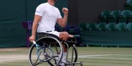 Rolstoeltennisser Joachim Gérard steekt eerste Wimbledontitel op zak