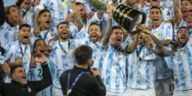 Messi mag voor het eerst met Argentijnse trofee zwaaien na winst in Copa America