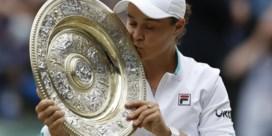 Barty bevestigt als nummer 1 van de wereld op Wimbledon