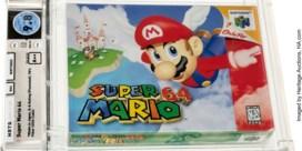 Recordbedrag voor oude spelcassette Super Mario 64 op veiling: 1,56 miljoen dollar