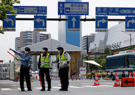 Atletendorp in Tokio officieel geopend onder strenge veiligheidsmaatregelen
