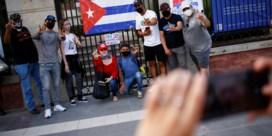 Protesten op Cuba: honderdtal activisten aangehouden