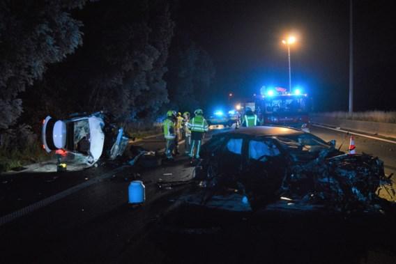 Twee zwaargewonden bij ongeval op E17