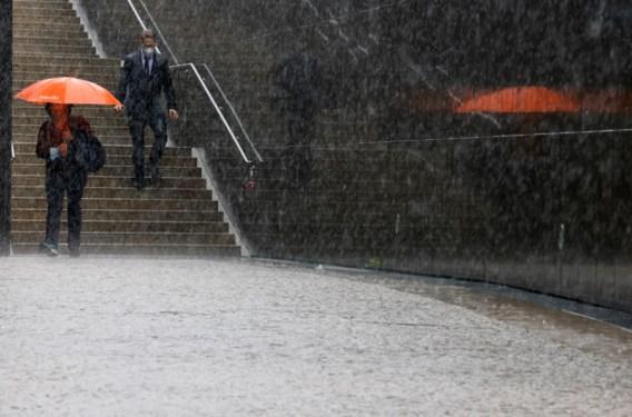 Nog twee regendagen en dan droger weer