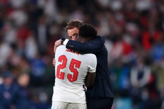Saka na gemiste strafschop in EK-finale: 'Hoop dat geen enkel kind ooit zulke berichten krijgt'