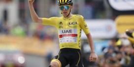 Tadej Pogacar wint ook achttiende rit in Tour de France na krachttoer op slotklim naar Luz Ardiden