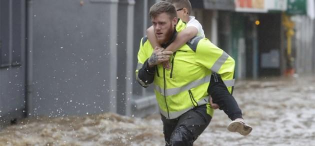 In beeld   Zware regenval en overstromingen in België