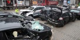 Ravage in Verviers: nu water is gezakt blijft drassig autokerkhof over