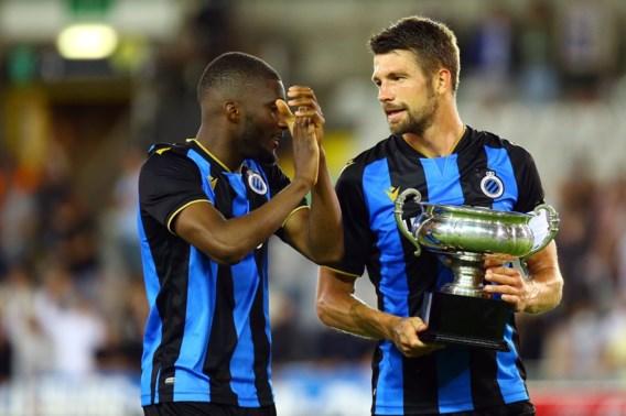 Eerste prijs van seizoen is binnen voor Club Brugge