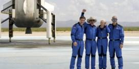 Jeff Bezos ondanks ruimtereis niet officieel erkend als astronaut