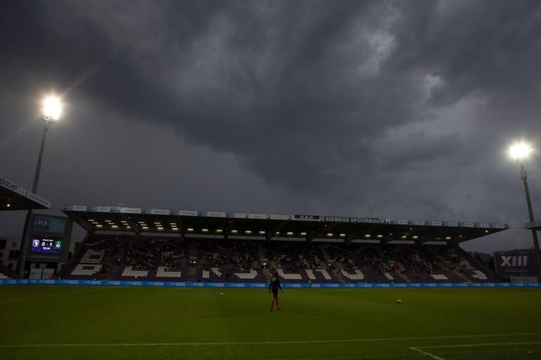 Regen boven het Kiel maakt vroegtijdig einde aan Beerschot–Cercle