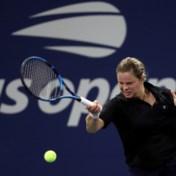 Kim Clijsters dit weekend weer op tenniscourt
