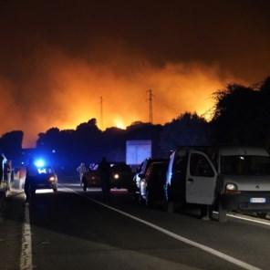 Grote bosbranden in Spanje, Frankrijk en Sardinië