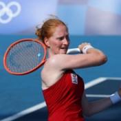 Alison Van Uytvanck plaatst zich vlot voor zestiende finale in Tokio