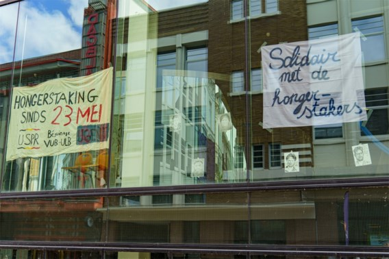Bezetting UFO-gebouw in Gent opgeschort nu hongerstaking afgelopen is