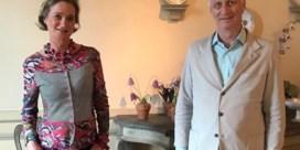 Prinses Delphine woont viering nationale feestdag bij