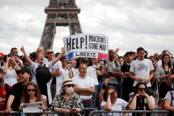 Frans parlement keurt wet voor omstreden 'coronapas' goed