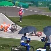 Nederlandse BMX'er loopt blessure op in Tokio na botsing met official