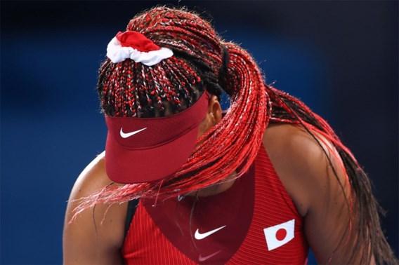 Game, set, match, drama: voor Naomi Osaka zijn de Spelen voorbij