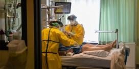Opnieuw meer dan 300 patiënten in ziekenhuizen