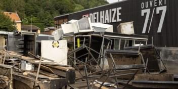 Lege winkelrekken in Waalse Delhaizes na overstromingen, rechtszaak dreigt