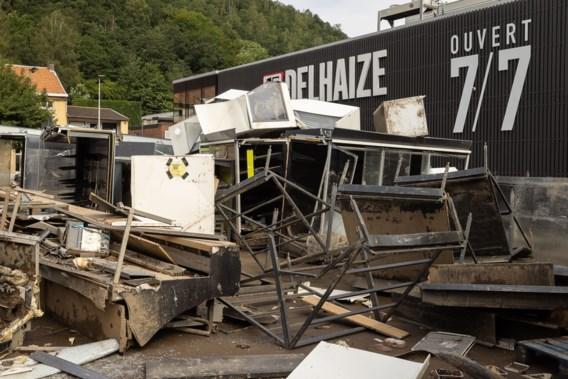 Watersnood verergert grieven rond belevering van Waalse Delhaize-uitbaters: rechtszaak dreigt