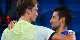 Geen Golden Slam voor Novak Djokovic, Zverev speelt finale tegen Khachanov