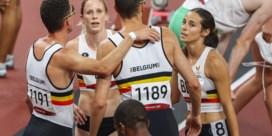 Belgische estafetteploeg vijfde in gemengde 4x400 meter