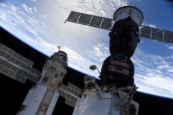 Kosmonauten hebben ISS-labomodule Nauka betreden