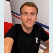 Macron verschijnt in T-shirt op Tiktok voor vragenrondje over vaccins