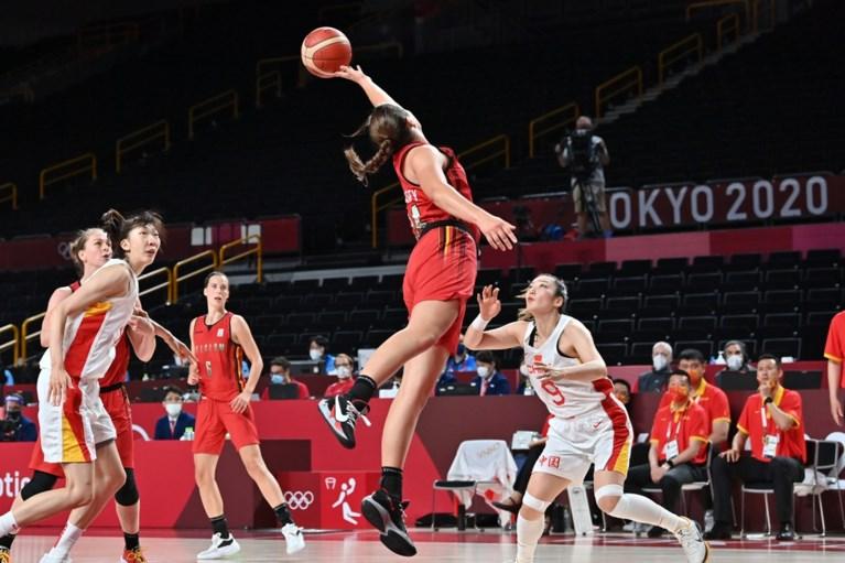 Geen groepswinst voor Belgian Cats na nederlaag tegen China, basketvrouwen treffen Japan in kwartfinale