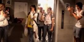 Red Lions verrassen Nina Derwael met oorverdovend applaus