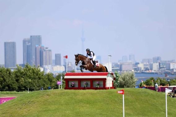 Drie uur na het hindernisparcours in Tokio was paard Jet Set dood