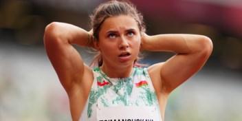 Sprintster op de loop voor Wit-Russische regime
