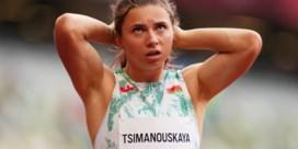 Sprintster op de loop voor het Wit-Russische regime