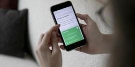 Corona-app meldt amper positieve gevallen