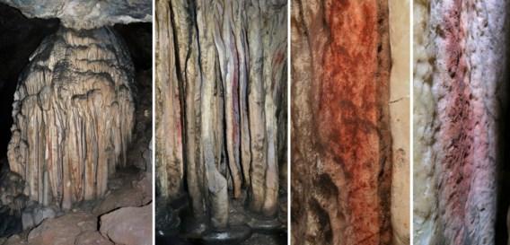 Neanderthalers waren al bezig met inrichting grot: druipstenen kregen kleurtje